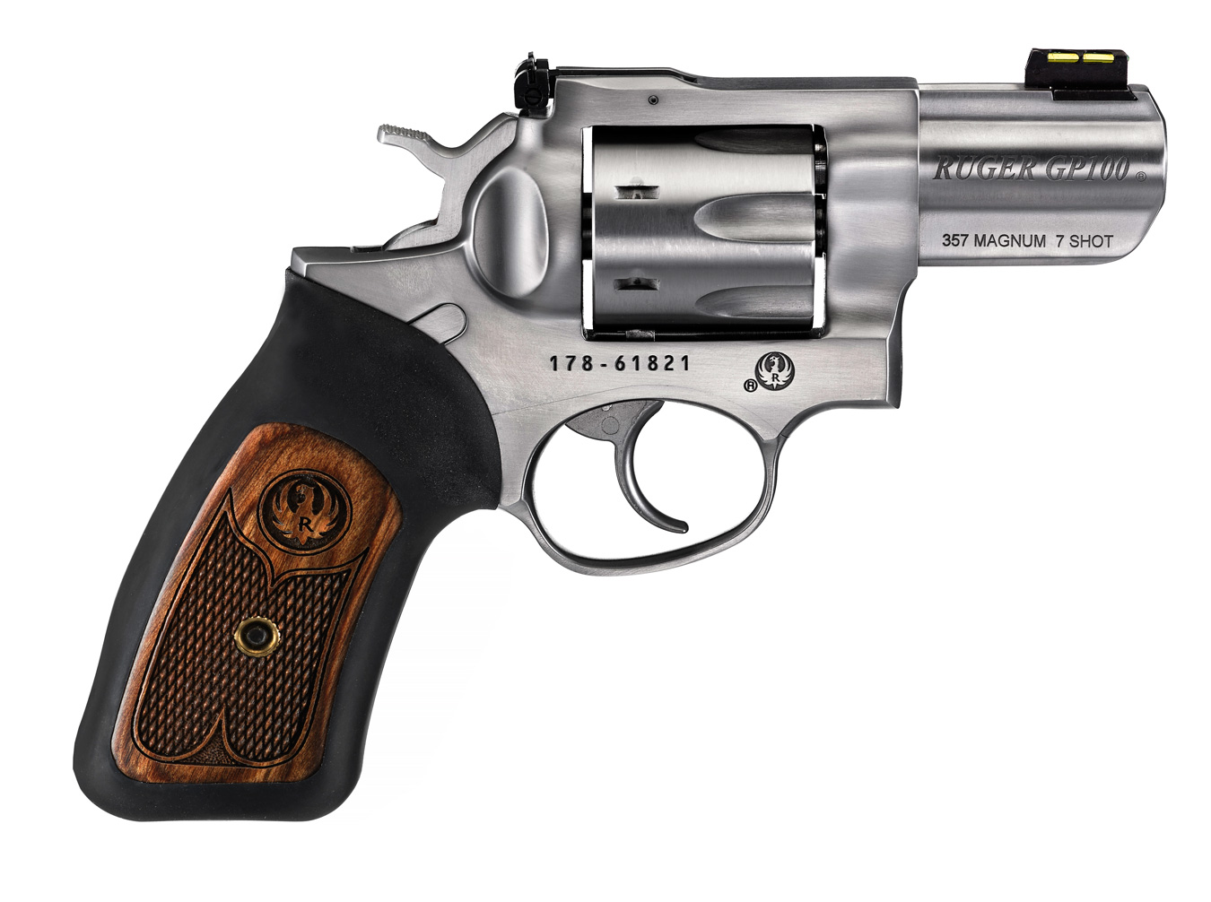 Gun Test: Ruger's New GP100 7-Shot  357 Mag  Revolver - The