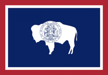 Wyoming State Flag - Stand your ground