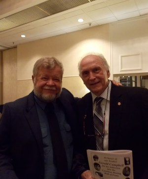 Bob and Jerry Campbell at the Carolina Boxing Hall of Fame