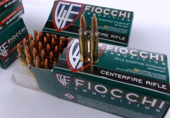 Fiocchi 62-grain ammunition