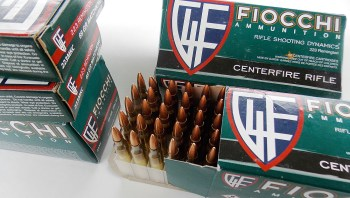 50-round box of Fiocchi ammunition