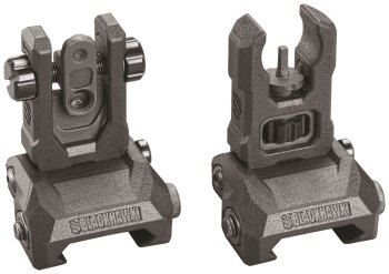 Blackhawk! MBOSS flip up rifle sights nra 2018