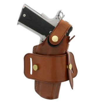 Galco Ironhide traditional leather holster