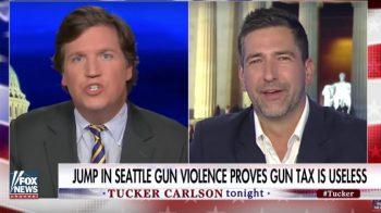 Tucker Carlson Seattle Gun tax