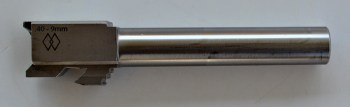 Silver Glock conversion barrel