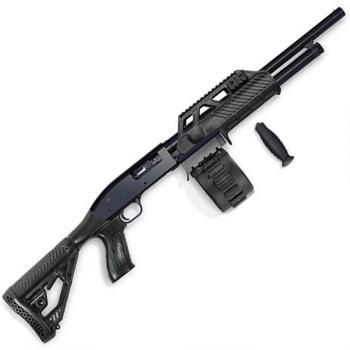 Adaptive Mav88 shotgun right black profile