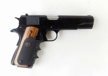 Regent R100 1911 semiautomatic .45 ACP handgun right profile