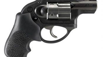 Ruger LCR .357 magnum revolver black