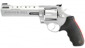 Taurus .454 Casull revolver stainless left profile