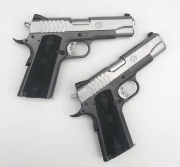Two Ruger SR1911 pistols