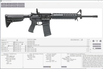 Firearms Guide AR-15 schematic
