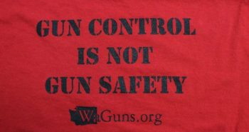 Gun control is not gun safety t-shirt