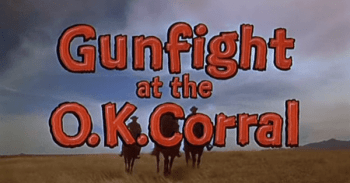 Gunfight at the OK Corral screen clip