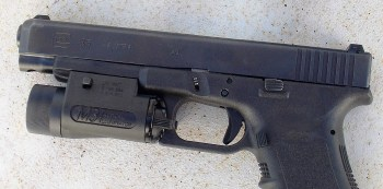 Glock Model 35 with Insight combat light