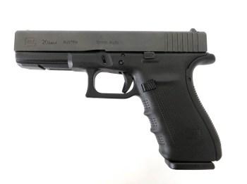 Glock G20 Gen 4 10mm left profile