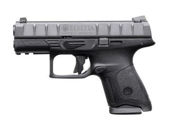 Beretta APX 9mm pistol left profile