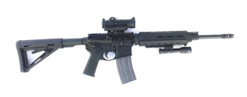 SIG Romeo 7 on top of an AR-15