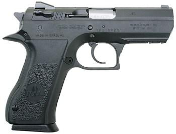 Baby Desert Eagle .45 ACP pistol right profile