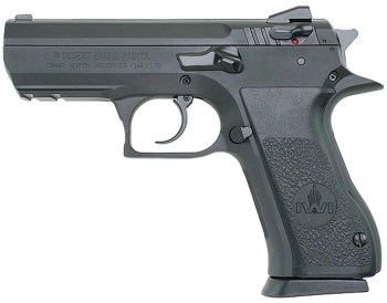 Baby Desert Eagle .45 ACP pistol left profile