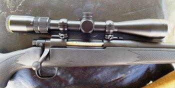 Mossberg ATR rifle with riflescope