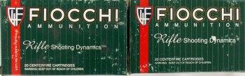 Fiocchi ammunition boxes