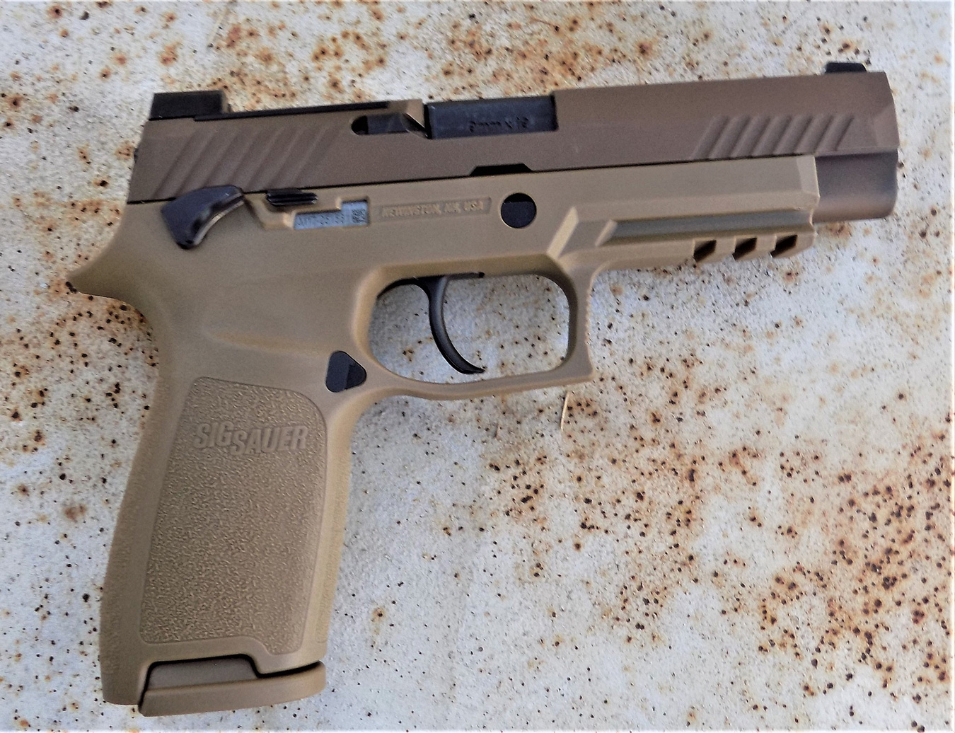 Review: SIG P320 M17 Civilian Model - The K-Var Armory