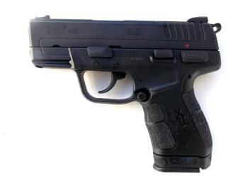 Springfield XDE 9mm profile left
