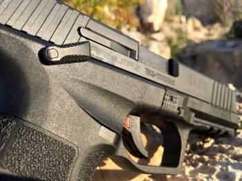 ambidextrous pistol safety