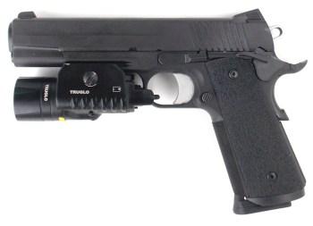 SIG TACOPS 1911 with TruGlo tactical light/laser combination