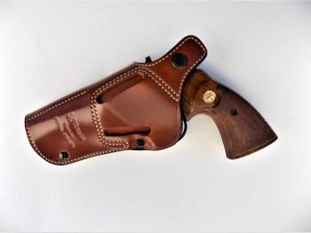 Colt Python revolver with Phoenix holster