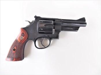 Smith and Wesson Model 27 revolver right profile