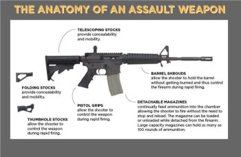 Anatomy of an assault weapon graphic assault weapons ban of 2019