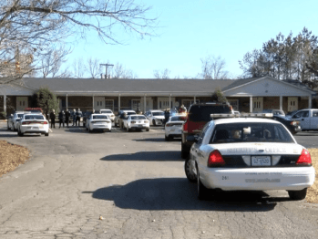 Kingsport Tennessee dental office where an armed man entered with police tape for armed good guys