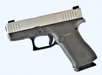 Glock 43X left profile
