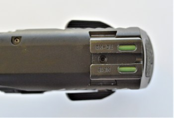 TruGlo fiber optic and tritium combination top view