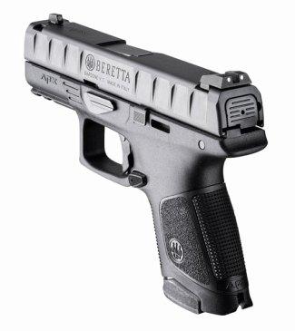 Beretta APX pistol rear quartering