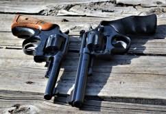 Two .22 caliber revolvers