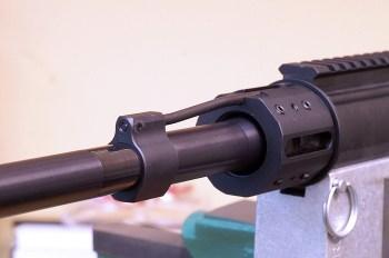 pistol-length gas system