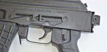 Ambidextrous safety on the Arsenal SAM7 AK pistol