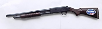 Mossberg Persuader 12 gauge shotgun left profile