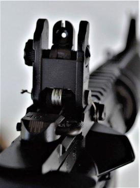 XS Sight rear aperture sight