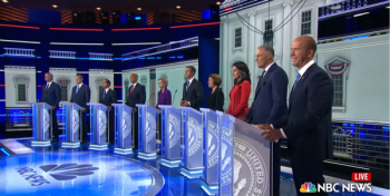 First democrat presidential debate of 2019 speaking about 2A rights
