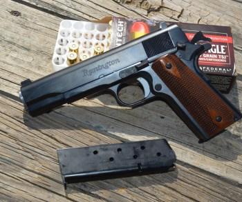 Remington R1 1911 pistol left profile