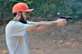 Ryan Flowers shooting the Citadel 1911 9mm pistol
