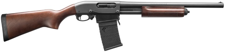 Remington 870 DM shotgun right profile