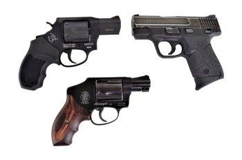 Taurus revolver versus slimline 9mm