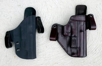 FIST leather pistol holster
