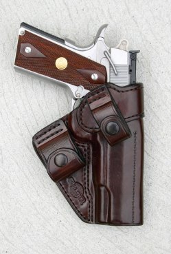 Mitch Rosen American Rear Guard holster with 1911 pistol