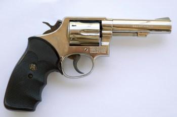 Model 13 .357 Magnum revolver right profile