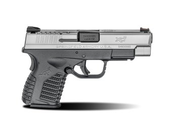 Springfield XD-S 4.0 with stainless steel slide right profile